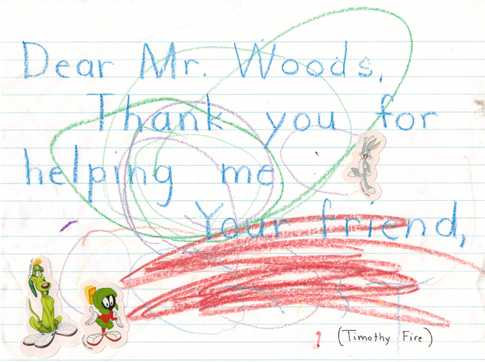 Thank you from Timothy Fire